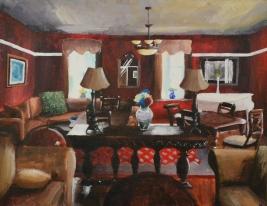 Zoe Solt - Silver Key - Painting