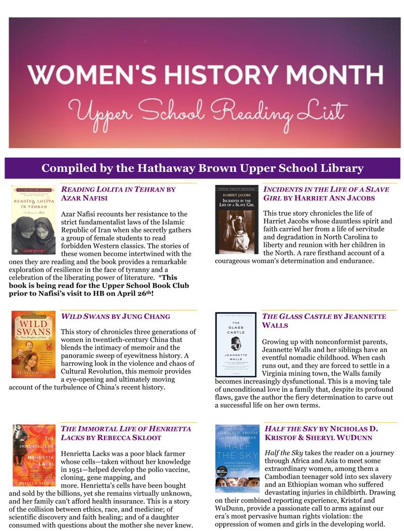 Microsoft Word - Women'sHistoryMonth2018.docx