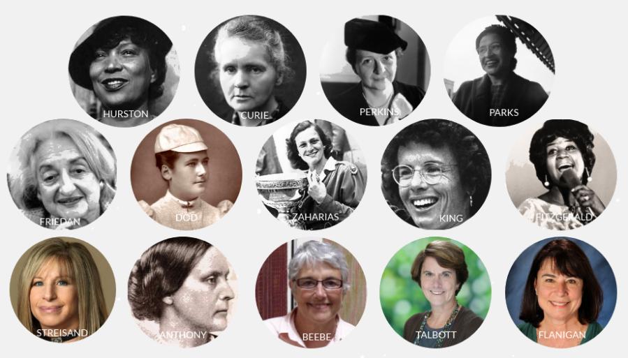 Womens History Month Headshots
