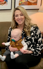 Nichole and Baby